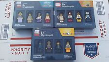 New Limited LEGO Bricktober MUSICIANS / ATHLETES / COPS & ROBBERS Mini Figures
