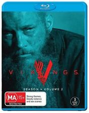 Vikings : Season 4 : Part 2 (Blu-ray, 3-Disc Set) NEW