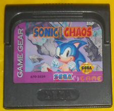 SONIC THE HEDGEHOG CHAOS Game Gear Versione Americana »»»»» SOLO CARTUCCIA