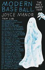 "MODERN BASEBALL/JOYCE MANOR ""HOLY GHOST TOUR"" 2016 NORTH AMERICAN CONCERT POSTER"
