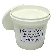 1kg Tub Fine Pure White Silica Gel Desiccant Granules for Flower Drying etc