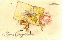Cartolina Auguri di BUON COMPLEANNO...............ill. Adolfo BUSI.