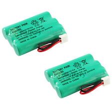 2 Cordless Home Phone Rechargeable Battery 350mAh NiCd for Sanik 3SN-AAA55H-S-J1