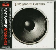 KINGDOM COME In Your Face CD JAPAN '89 1ST PRESS P00P-20232 NEW Stone Fury s4739