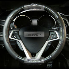 370mm Real Carbon Steering Wheel Cover Urethan for KIA 2012 - 2016  Rio Pride