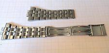 Ungetragenes Stahlband mit Faltschliese passend für Omega Costelation 60er70er