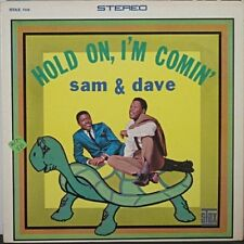 """SAM and DAVE~""""HOLD ON,I'M COMING"""" ORIG STAX 708 VG+/VG+ """"MONO/STEREO""""~LP's"""