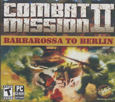 COMBAT MISSION II Barbarossa to Berlin 2 Win XP-7 GameNEW