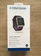 BRAND NEW Fitbit Blaze Smart Fitness Watch SMALL Plum FB502SPMS