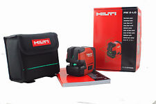 Hilti laser level PM 2-LG  Green laser contains  L-shaped magnetic rotating base