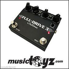 Fulltone Fulldrive 3 in Black Guitar Overdrive Pedal - New/Auth - Free Ship/Gift