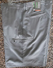 NWT Men's Izod XFG Cargo Golf Shorts  Shark Skin Grey 32