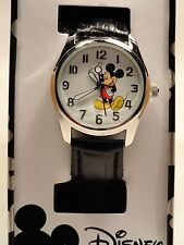 Disney mickey mouse leather band watch, new/warranty, PLUS free GIFT