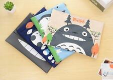 4pcs Cute My Neighbor TOTORO A4 Office School File Bag Case Organizer Folders