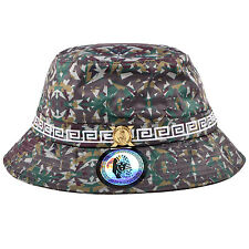 Authentic Last Kings Summer Outdoor Camo Gold Pyramid Egypt Fisherman Bucket Hat