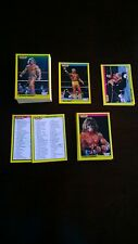 RARE - 86/96 Merlin WWF 1992 Gold Series 2 Cards - MINT Condition