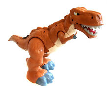 "Huge Fisher Price Imaginext T REX  Dinosaur 16"" poseable toy figure with SOUND"