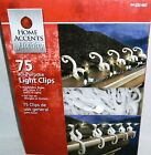 ALL-PURPOSE LIGHT CLIPS 75 Ct For Use On Shingles or Gutters