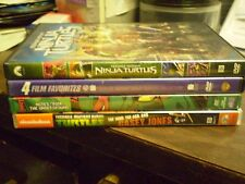 (7) Teenage Mutant Ninja Turtles DVD Lot: TMNT 1, 2, 3, 4 & 5  + Casey Jones