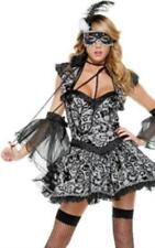 SS4U  Gray Victorian Couture Masked Beauty Costume SM
