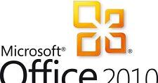 Key geeignet für : Microsoft Office  2010 Standart 1 PC Vollversion Deutsch