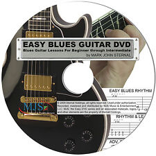 Beginner To Advanced EASY BLUES GUITAR Lesson DVD Learn To Play WATCH 15 MIN NOW