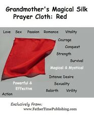 Magical Red Silk Prayer Cloth To Attract Love, Luck, Romance, Good Sex & Passion