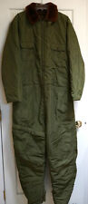 VINTAGE WWII BUAER AL-1 EXTREME COLD WEATHER COVERALL FLIGHT SUIT USN (NAVY)