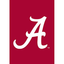 University of Alabama Crimson Tide  Decorative Flag NCAA College Football Big Al