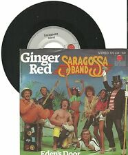 "Saragossa Band, Ginger Red, G/VG  7"" Single 999-621"