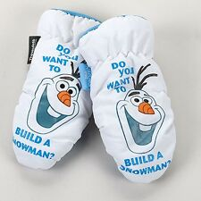 Disney Frozen Olaf Insulated Mittens Kids Size 1 Pair