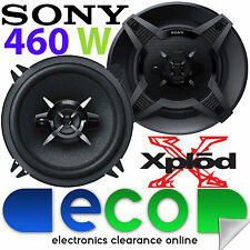 Renault Clio 1998-09 SONY 13cm 5.25 Inch 460 Watts 2 Way Rear Door Car Speakers
