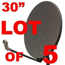 "LOT 30"" SATELLITE TV DISH ANTENNA 33 36 FTA FREE TO AIR"