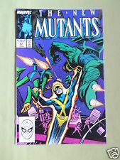THE NEW MUTANTS- MARVEL COMIC - VOL 1  #67 - SEPT 1988