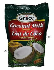 Grace Coconut Milk Powder Organic Recipes Nutrition Ingredients 2.2 Pound 1kg