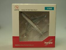 "Herpa Wings B737-800 Qantas ""Retro Roo II"" - 529020 - 1/500"