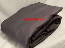 CHARTER CLUB 500 Thread Count Damask Solid QUEEN Fitted Sheet & Cases Slate