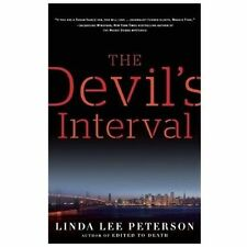 THE DEVIL'S INTERVAL by Linda Peterson (2013, Paperback) NEW Shrinkwrapped