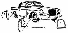 Studebaker Coupe & Hawk Inner Fender Kit 1953-1964, Made in the USA