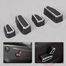 4pcs Front Seat Adjustment Switch Cover For Jeep Cherokee Patriot Grand Cherokee