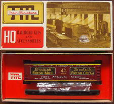 HO Scale Train Miniature Bellows Falls Co-Op 40' Wood Reefer Kit