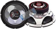 "New Pyramid PW577X - 5"" 200 Watts Subwoofer Chrome Finish Basket Silver Plated"