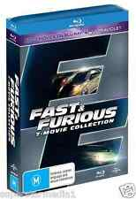 FAST and FURIOUS Complete Collection 1 - 7 : NEW Blu-Ray