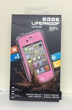 NEW!!! OEM LifeProof Waterproof Case for iPhone 4 & 4S - Pink