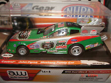 AUTO WORLD~John Force 25th Anniversary Castrol Oil Funny Car ~ FITS AFX, AW, JL