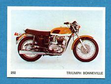 AUTO E MOTO - Figurina-Sticker n. 292 - TRIUMPH BONNEVILLE -New