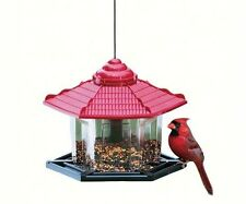 ARTLINES #6240 DELUXE GAZEBO BIRD FEEDER, 4# SEED CAPACITY