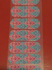 Jamberry Nail Wrap Half Sheet - Retired - Faded Deco