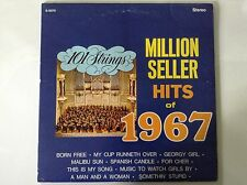 Million Seller Hit Songs of 1967 101 Strings LP Records Vinyl Album S-5070