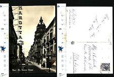 BARI (BA) - BELLA VEDUTA DI VIA VITTORIO VENETO - ANNO 1959 BEN TENUTA - 54726
